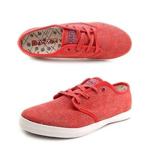 MOVMT Red Marco's Eco Tennis Shoes